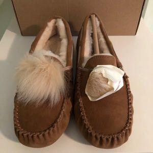 Ugg Dakota Slippers with Pom Pom